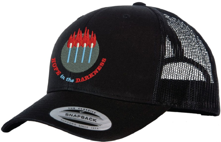 Hope in the darkness hats